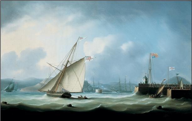 Leith Harbour  Kunstdruck
