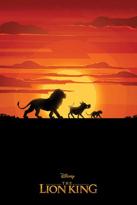 Poster Lejonkungen - Long Live The King