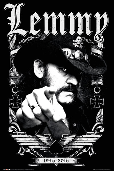 Poster Lemmy - Dates