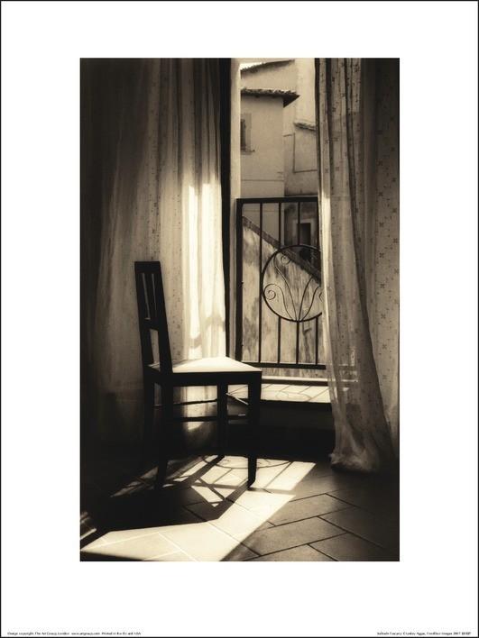 Lesley Aggar - Solitude Kunstdruck