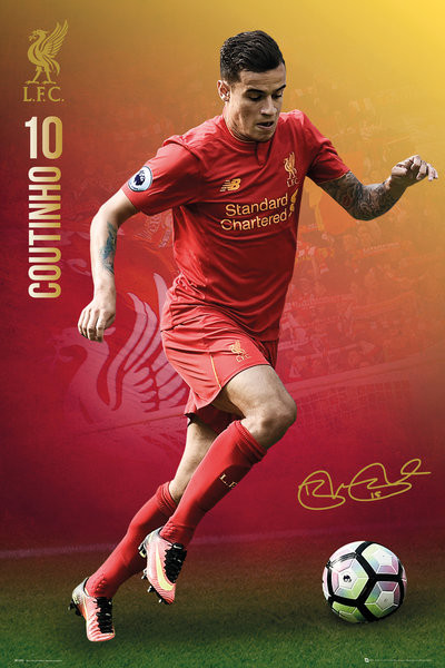 Poster Liverpool - Coutinho 16/17