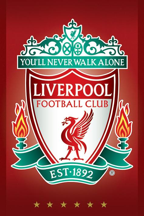 Bestel De Liverpool Fc Crest Poster Op Europosters