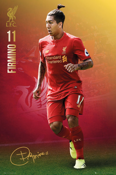 Poster Liverpool - Firmimo 16/17