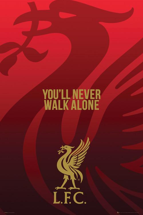 Poster  Liverpool - Liverbird
