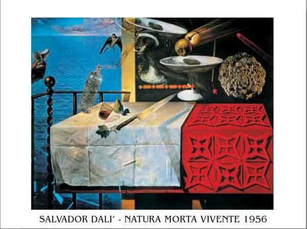Poster Living Still Life - Nature Morte Vivante, 1956