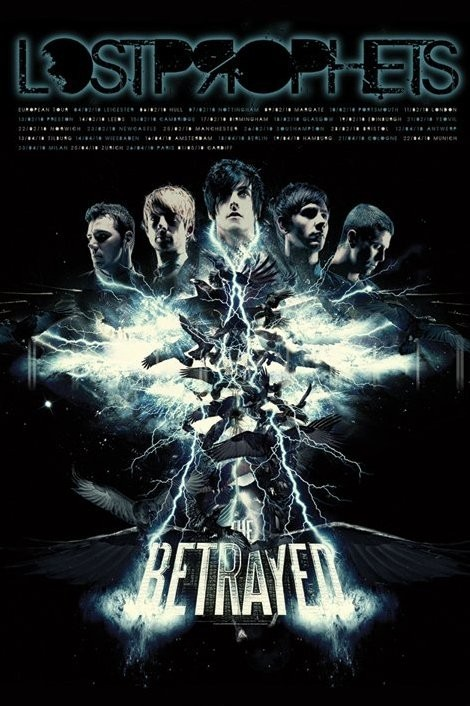 Poster Lostprophets - the betrayed