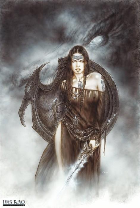 Poster Luis Royo - dragon spirit