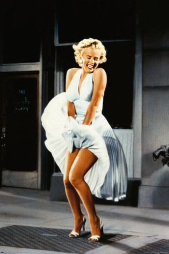 Poster M.MONROE - Seven year itch