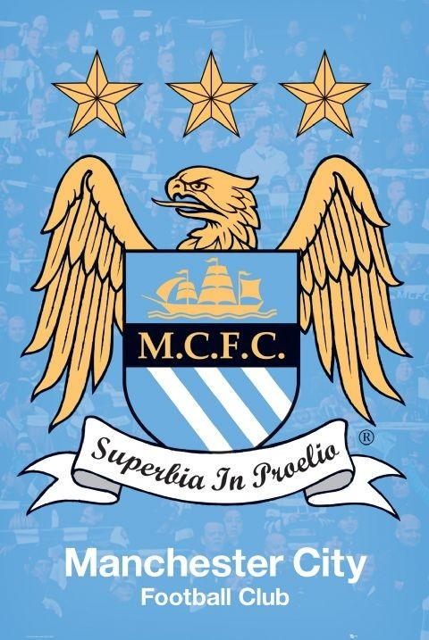 Poster Manchester City - crest