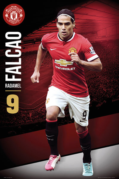 Manchester United - Falcao 14/15 Poster
