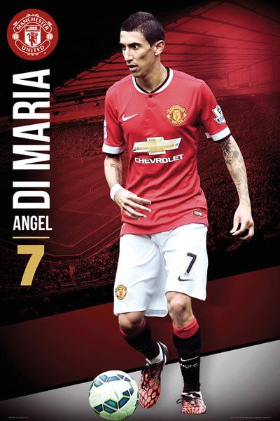 Poster Manchester United FC - Di Maria 14/15
