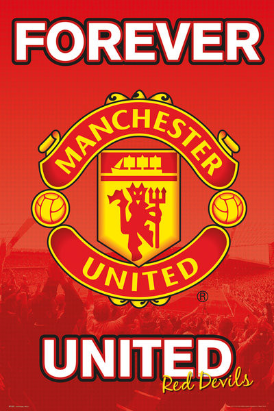 Poster Manchester United FC - Forever 15/16