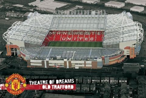 Manchester United - theatre new Poster