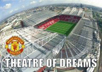 Poster Manchester United - theatre of dreams