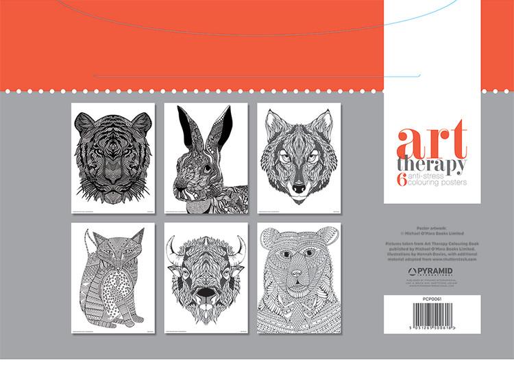 Mandalas Art Therapy - Animal