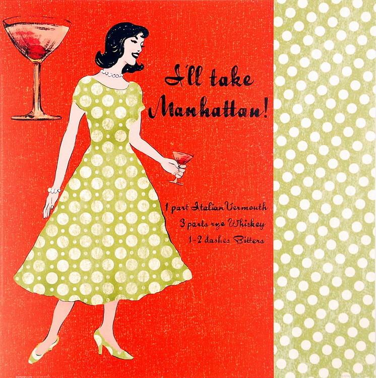 Manhattan Lady Poster