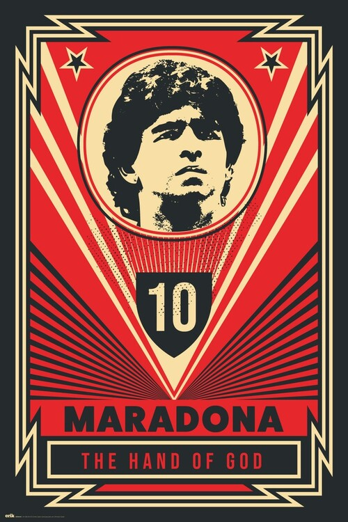 Poster Maradona - The Hand Of God