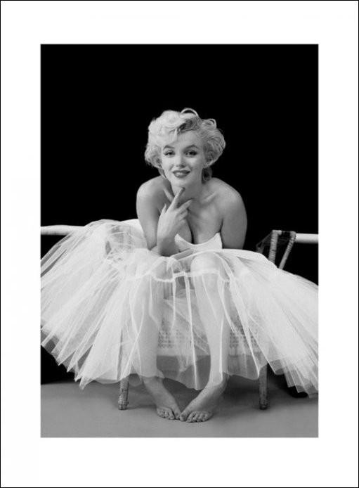 Kunstdruck Marilyn Monroe Ballerina Bei Europosters