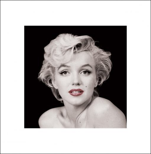Marilyn Monroe - Red Lips Kunstdruck