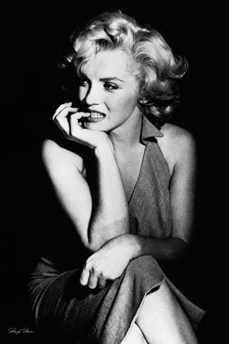 Poster Marilyn Monroe - sitting