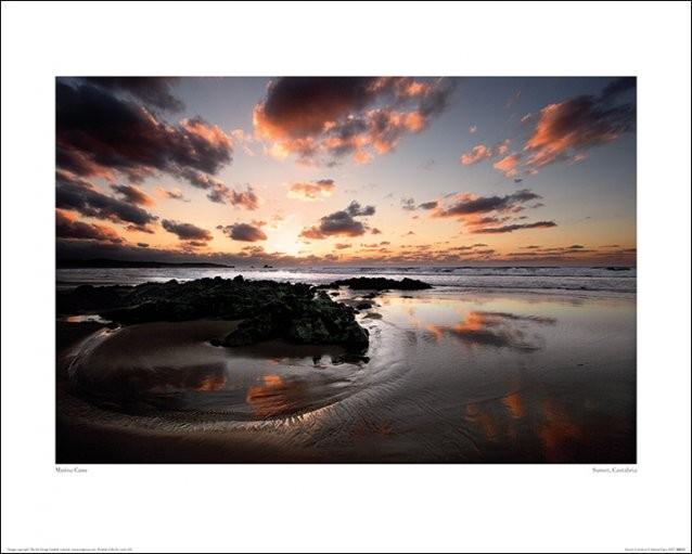 Marina Cano - Sunset, Cantabria Kunstdruck
