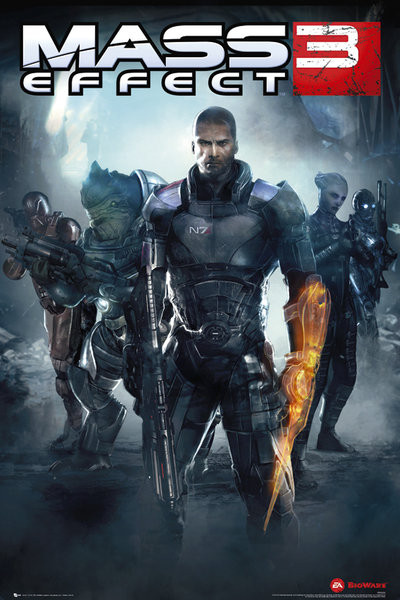 Poster Mass Effect 3 – multiplayer