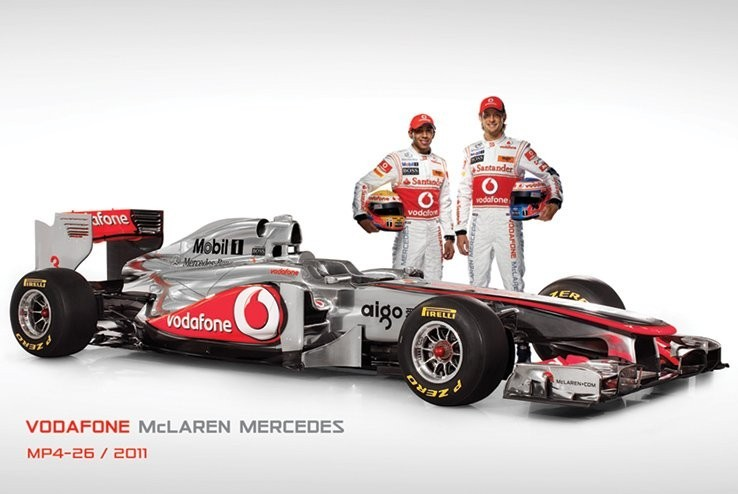 Poster McLaren F1 MP4-26 - and drive