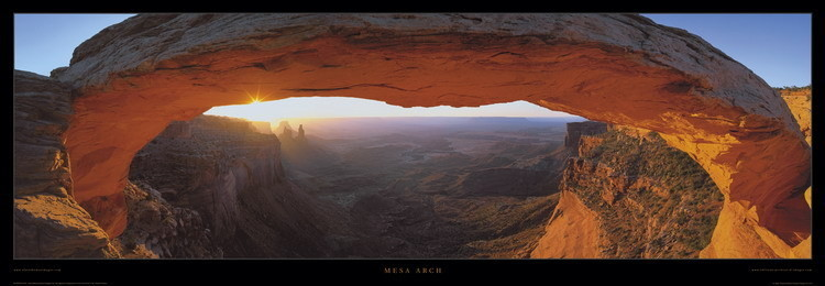 Poster Mesa Arch