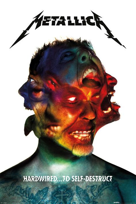 Poster Metallica - Hardwired Album