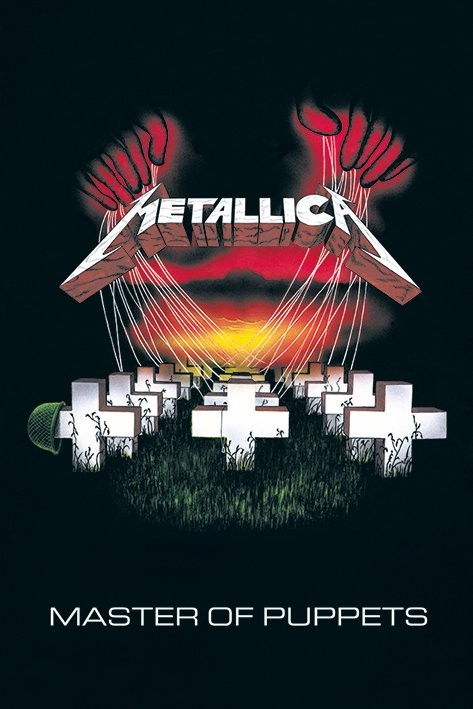 Poster Metallica - master of puppets