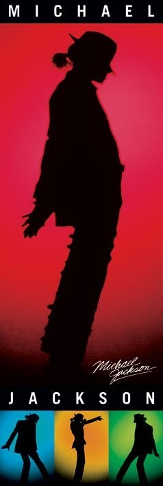 Poster Michael Jackson - silhouettes