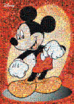 Poster MICKEY MOUSE - mosaic