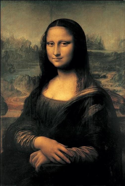 Konsttryck Mona Lisa (La Gioconda)