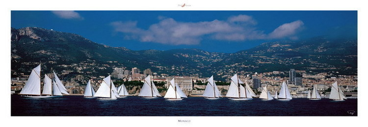 Monaco Classic Week Kunstdruck