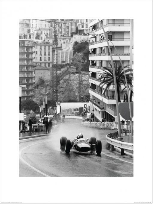 Monaco Grand Prix Kunstdruck