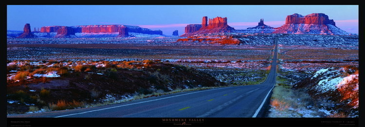 Monument Valley Kunstdruck