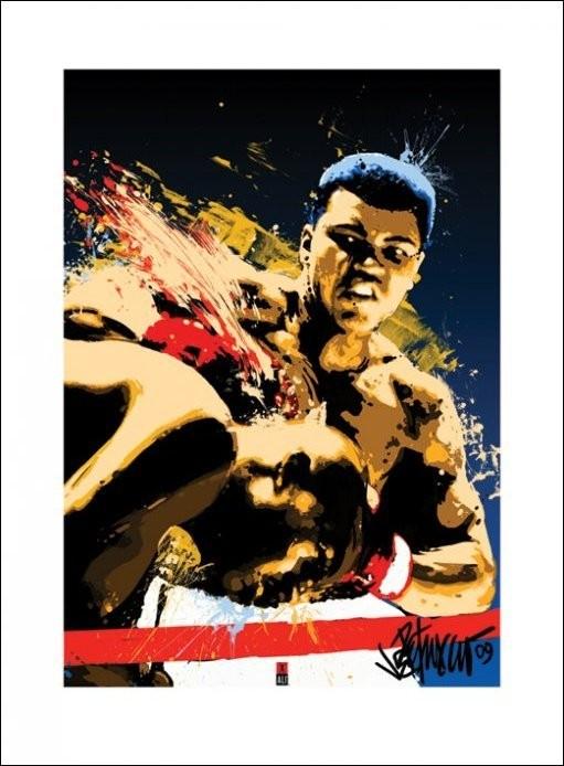 Muhammad Ali - Sting Kunstdruck