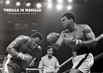 Poster Muhammad Ali - thrilla