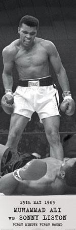 Poster Muhammad Ali - vs. Sonny Liston