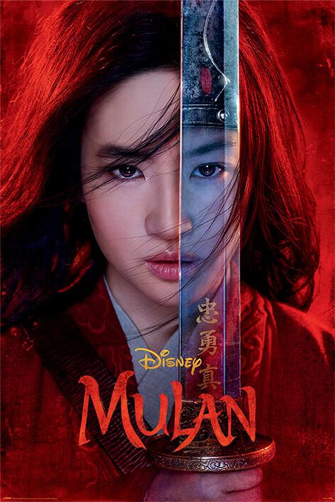 Poster Mulan - Be Legendary