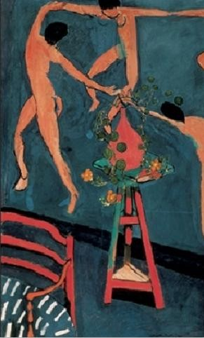 Nasturtiums with The Dance, 1912 Kunstdruck