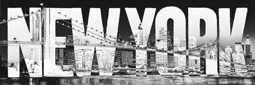 new york typeface t rposter bei. Black Bedroom Furniture Sets. Home Design Ideas