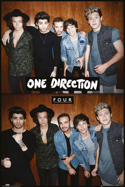 Poster One Direction - Four