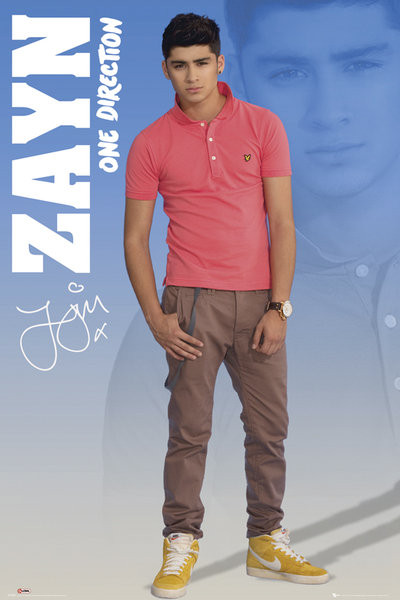 Poster One Direction - zayn 2012