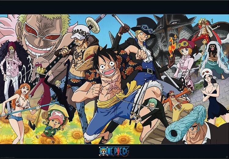 Póster One Piece - Dressrosa