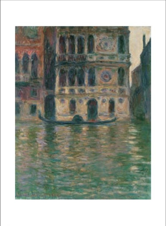 Palazzo Dario in Venice, 1908 Kunstdruck
