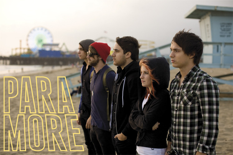 Poster Paramore – beach