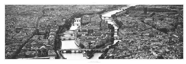 Paris - L'ile de la Cité Kunstdruck