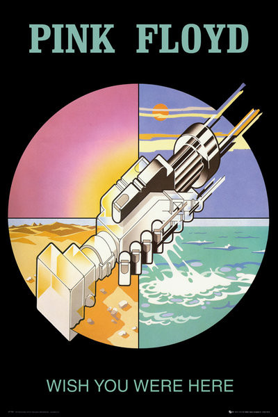 Poster Pink Floyd - wish you were here 2