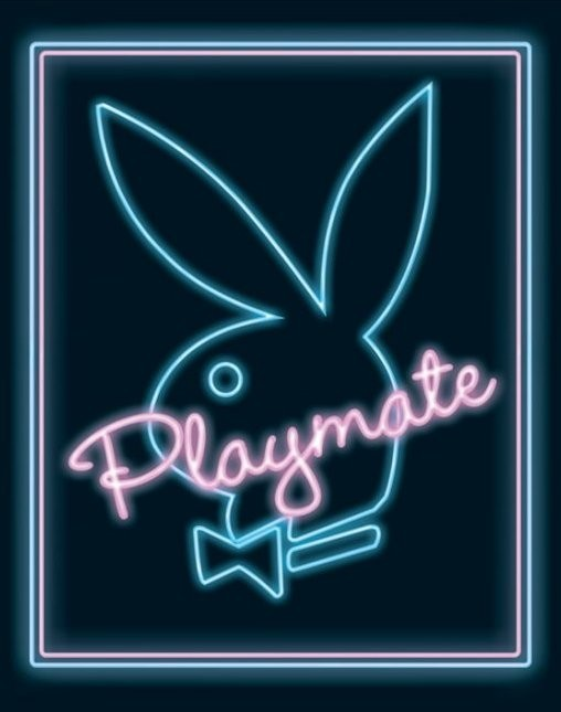 Playboy - playmate neon Poster